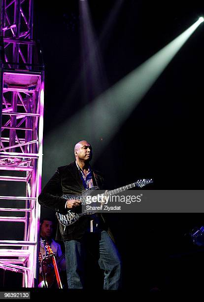 Bernie Williams performs at Madison Square Garden on February 2 2010 in New York City