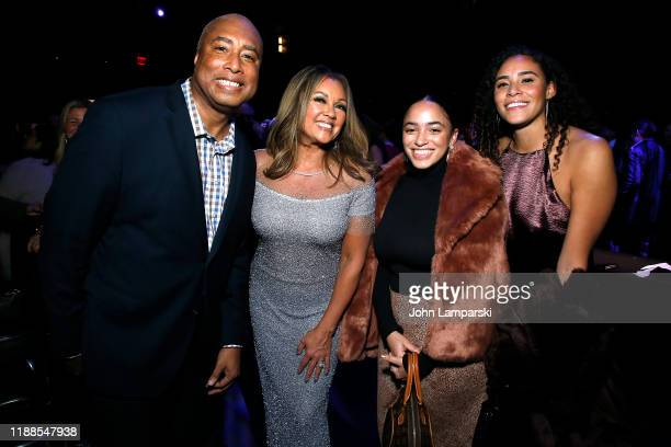 Bernie Williams Vanessa Williams and guests attend Sheen Center presents Vanessa Williams Friends thankful for Christmas with guests Norm Lewis...
