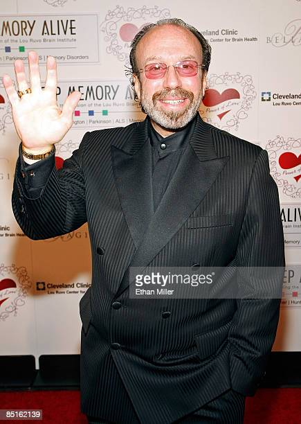 Bernie Yuman manager of Siegfried Roy arrives at the Bellagio for the 13th annual Keep Memory Alive Foundation Power of Love gala to benefit the...