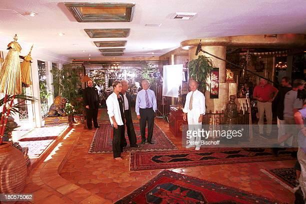 Bernie Yumann Siegfried Roy Siegfried Rauch Horst Naumann Kamerateam DschungelPalast ZDFReihe Traumschiff Folge 40 Las Vegas Kalifornien USA...