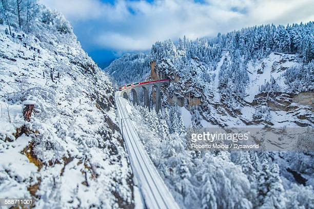 Bernina Express train Switzerland