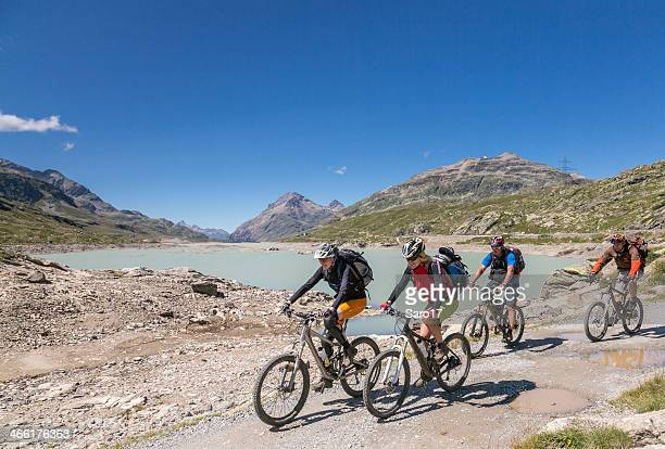 Bernina Pass Radfahren, Schweiz