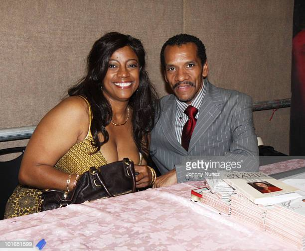 BernNadette Stanis and Ralph Carter attend the 2009 Essence Music Festival Presented by CocaCola at the Louisiana Superdome on July 3 2009 in New...