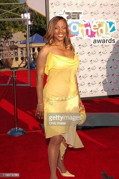 BernNadette Stanis during 2004 BET Comedy Awards Red Carpet at Pasadena Civic Auditorium in Pasadena California United States