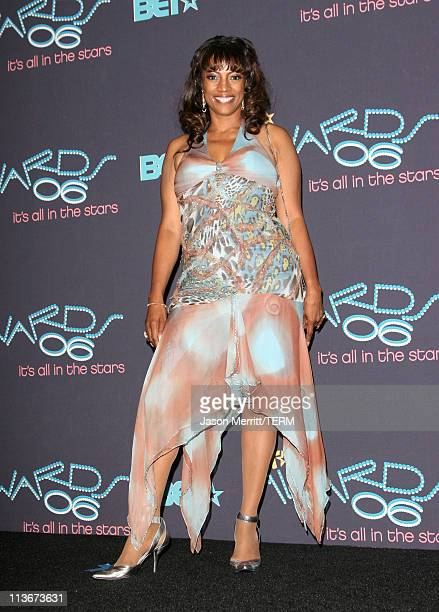 BernNadette Stanis during 2006 BET Awards Press Room at The Shrine in Los Angeles California United States