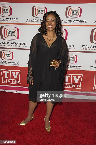BernNadette Stanis during 4th Annual TV Land Awards Arrivals at Barker Hangar in Santa Monica California United States