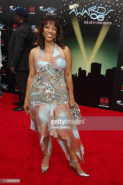 BernNadette Stanis during 6th Annual BET Awards Arrivals at Shrine Auditorium in Los Angeles CA United States