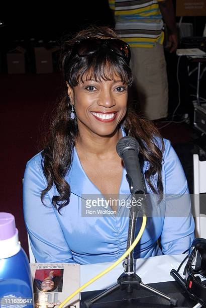 BernNadette Stanis during 6th Annual BET Awards Radio Remote Room Day 1 at Shrine Auditorium in Los Angeles CA United States
