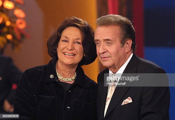 Überraschungsgast Edda Moser Günter Wewel ARDMusikshow GeburtstagsGala zum 70Geburtstag von G ü n t e r W e w e l 'Kein schöner...