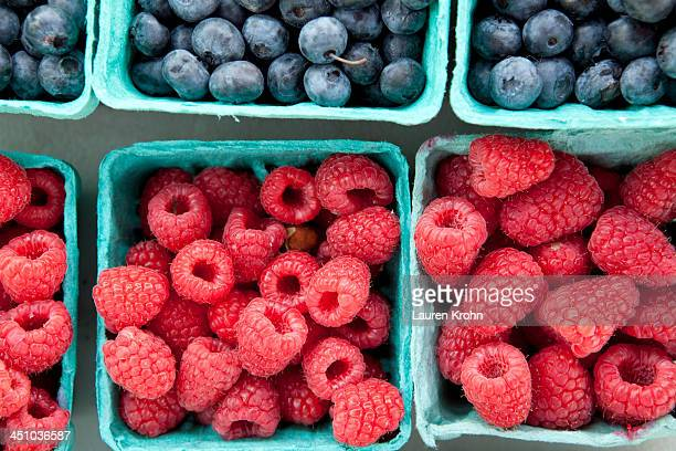 Berries at a Farmers Market