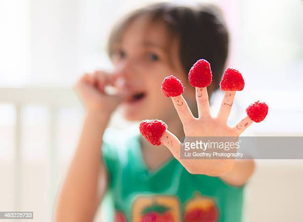 Berries for Finger Puppets