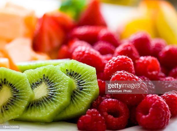 Berries Melon and Kiwi Fruit Tray