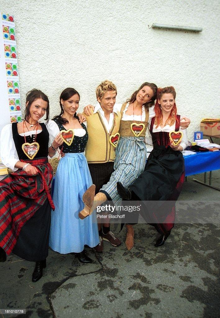 Berrit Arnold, Celia Kim, Simon- Paul Wagner, Leonore Capell, Ca : Nachrichtenfoto