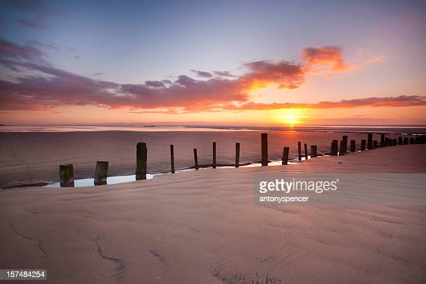 berrow beach - weston super mare stock pictures, royalty-free photos & images