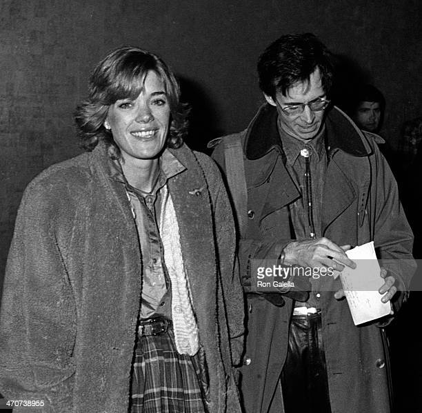 "Berry Berenson and Anthony Perkins attend the premiere of ""Chapter Two"" on December 9, 1979 at Loew's State Theater in New York City."