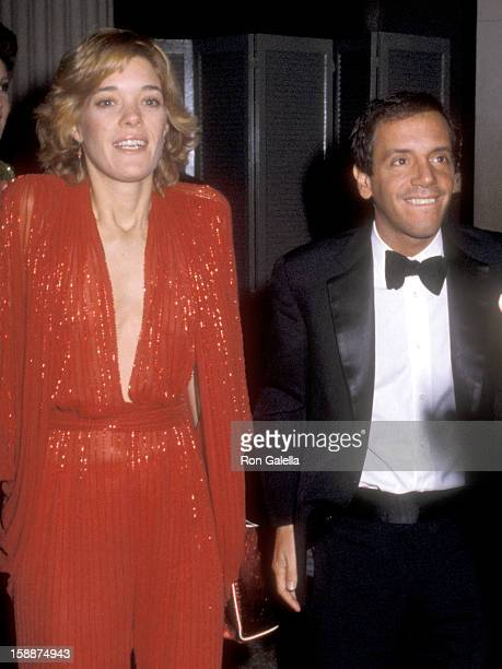 "Berry Berenson and Studio 54 owner Steve Rubell attend The Metropolitan Museum of Art's Costume Institute Gala Exhibition of ""Fashion of the Hapsburg..."