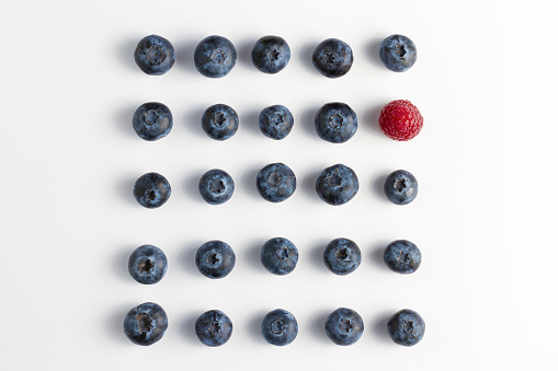 Berry Fruits On White Background - gettyimageskorea