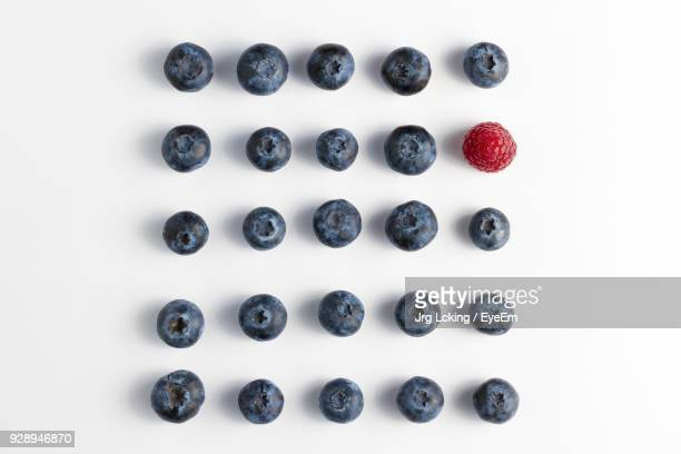 Berry Fruits On White Background