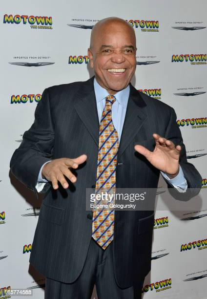 Berry Gordy attends the Motown The Musical Motown Family Night at the LuntFontanne Theatre on April 5 2013 in New York City