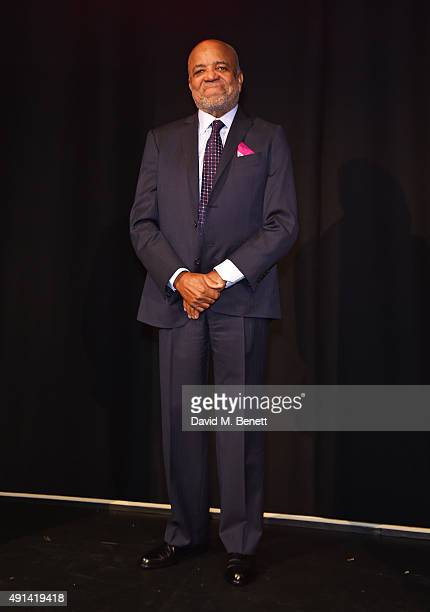 Berry Gordy attends the Motown The Musical photocall at The Hospital Club on October 5 2015 in London England