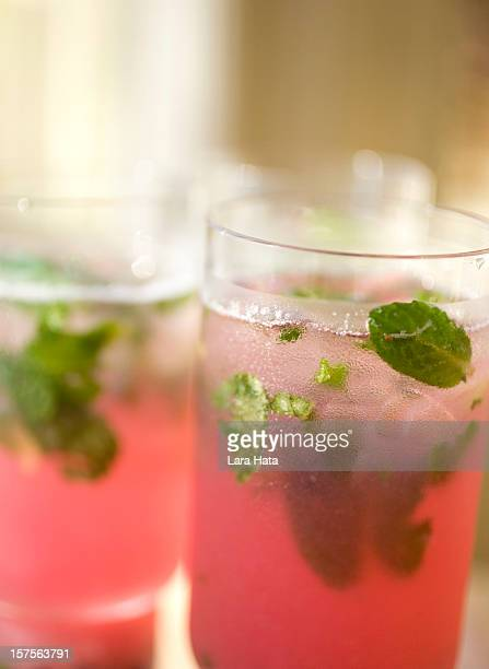 berry mojito - mojito stock photos and pictures