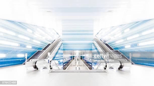 Überseequartier subway station