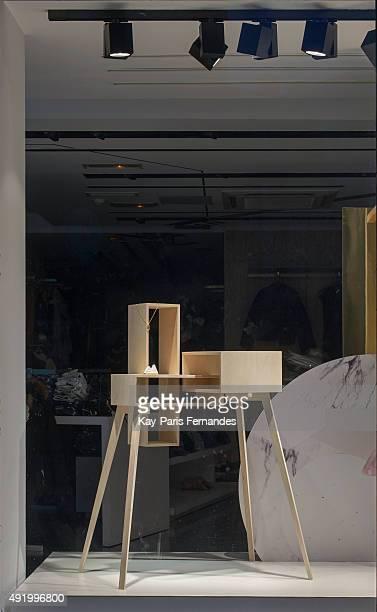 Bershka Paris Windows Display 2015 as Part of the World Fashion Window Displays on July 16 2015 in Paris France
