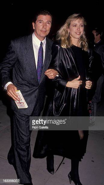 Bert Convy attends the premiere of Enemies A Love Story on December 12 1989 at the Academy Theater in Beverly Hills California