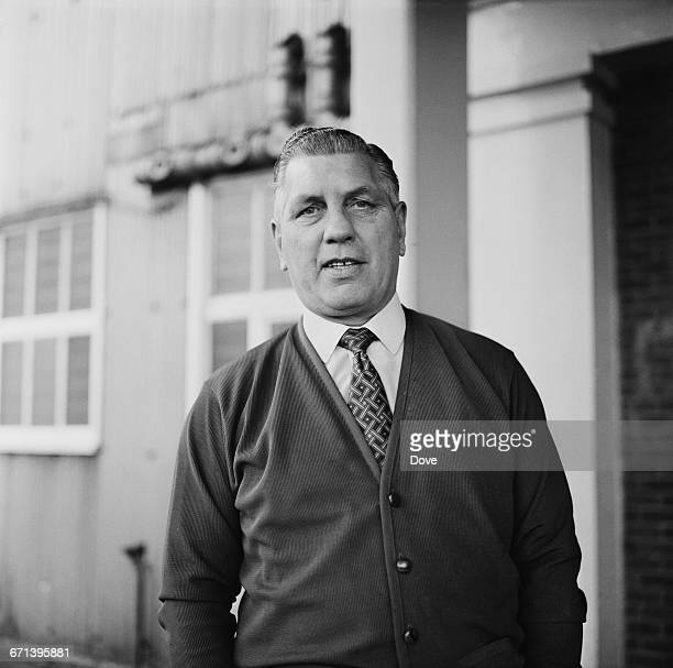 Bert Head , manager of Crystal Palace F.C., UK, 18th November 1971.