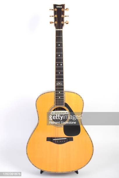 Bert Jansch Guitar Collection and accessories shoot consisting of Yamaha FG-1500, LL-11E and LL86 Acoustic Guitars and a Rob Armstrong Acoustic...