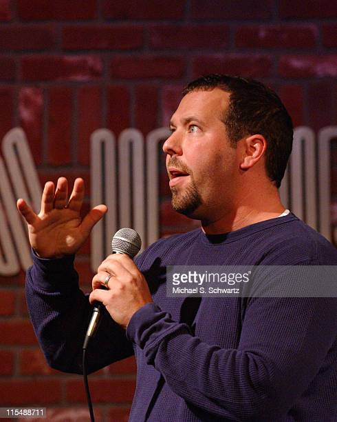 Bert Kreischer during Collegehumorcom Presents Comedy Juice at The Hollywood Improv May 2 2007 at The Hollywood Improv in Hollywood California United...