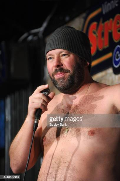 Bert Kreischer performs at The Stress Factory Comedy Club on January 11, 2018 in New Brunswick, New Jersey.