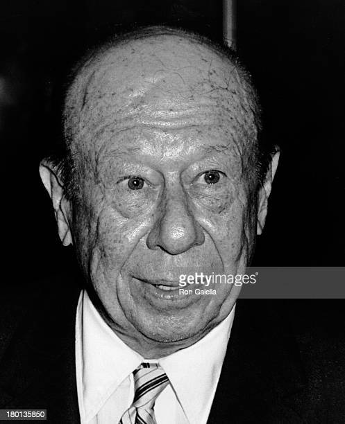 Bert Lahr attends Betty Grable Opening Party on June 12 1967 at Kipping Steak House in New York City