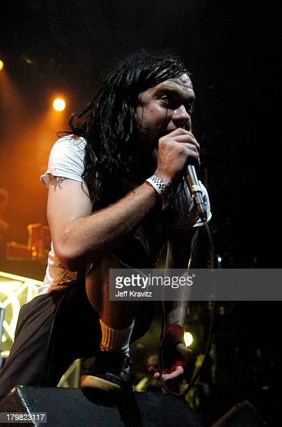 Bert McKraken of The Used during 2004 KROQ Almost Acoustic Christmas Night 2 Show at Universal Amphitheatre in Universal City California United States