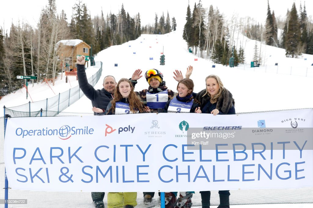Operation Smile 8th Annual Park City Ski Challenge Presented By Poly, St Regis Deer Valley & Deer Valley Resort : Nieuwsfoto's