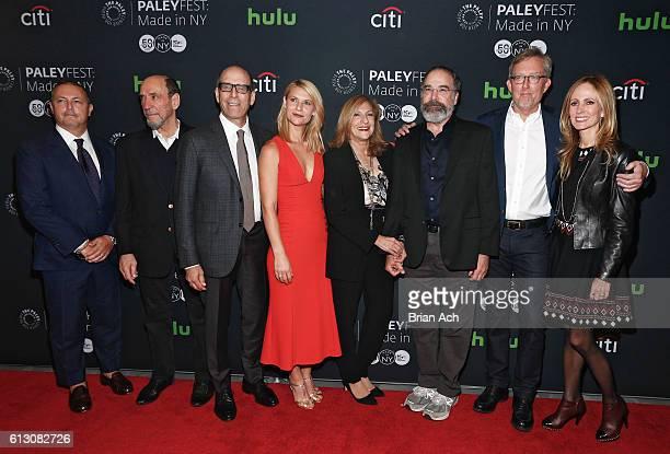 Bert Salke President Fox 21 Television Studios actor F Murray Abraham Matthew C Blank Chairman Showtime Networks Inc actress Claire Danes director...