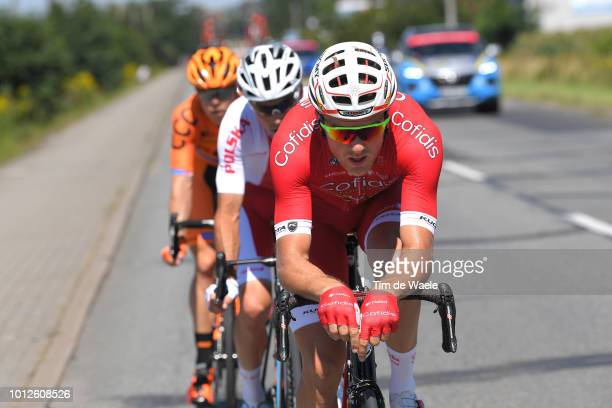 Bert Van Lerberghe of Belgium and Team Cofidis Solutions Credits / Marek Rutkiewicz of Poland and Team Reprezentacja Polski / Jan Tratnik of...