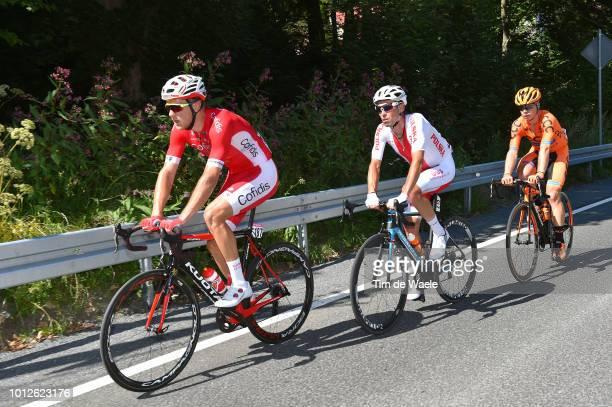 Bert Van Lerberghe of Belgium and Team Cofidis Solutions Credits / Marek Rutkiewicz of Poland and Team Reprezentacja Polski / Jan Tratnik of Slovenia...