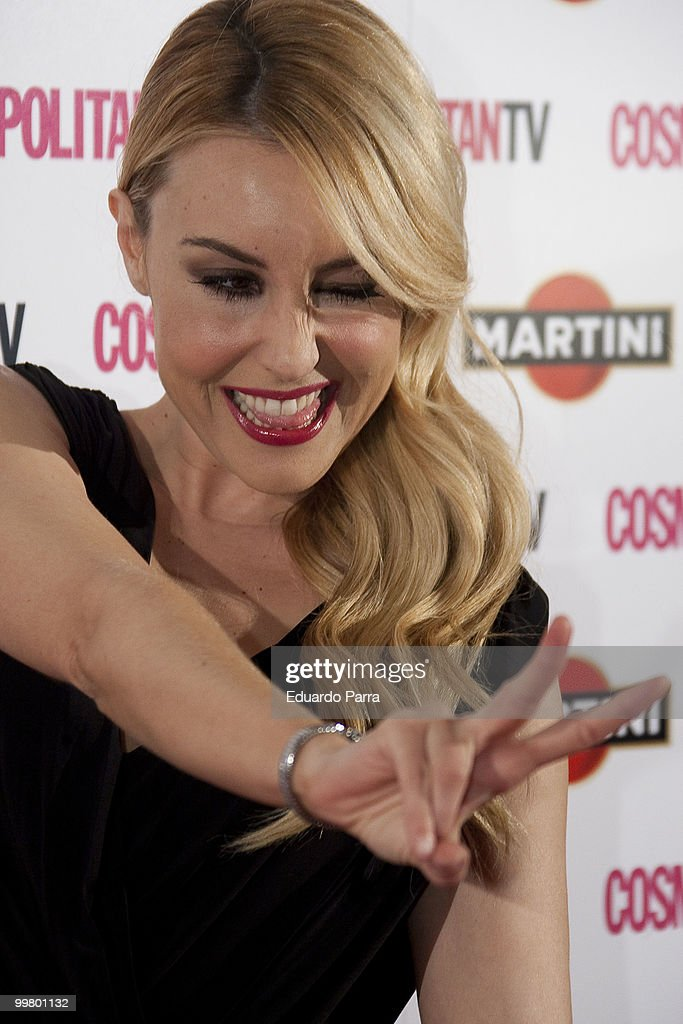 Berta Collado attends Cosmopolitan, fragance of the year photocall at Lara Theatre on May 17, 2010 in Madrid, Spain.