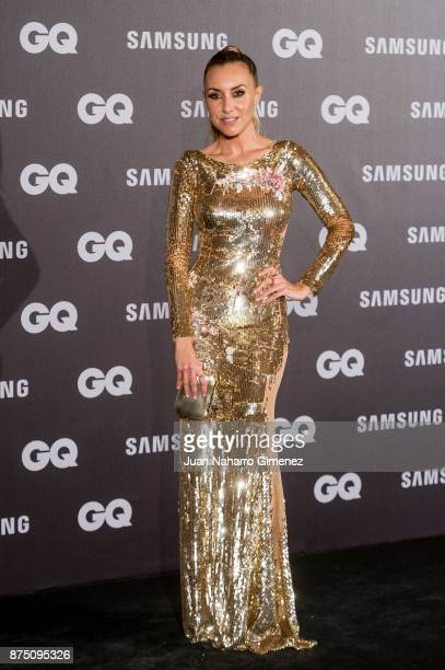 Berta Collado attends 'GQ Men Of The Year' awards 2017 at The Westin Palace Hotel on November 16 2017 in Madrid Spain