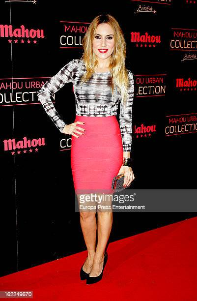 Berta Collado attends Mahou Urban Collection during Mercedes Benz Fashion Week Madrid Fall/Winter 2013/14 on February 20 2013 in Madrid Spain