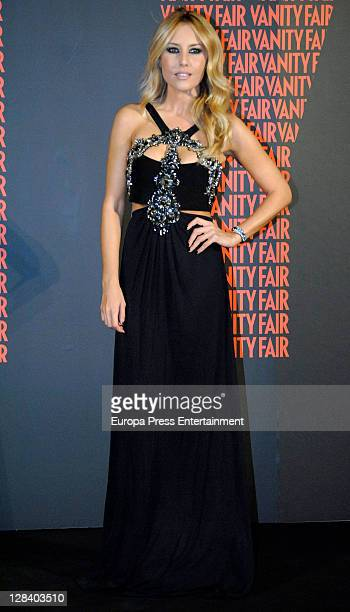 Berta Collado attends 'Man of The Year 2011' Vanity Fair Award on October 6 2011 in Madrid Spain