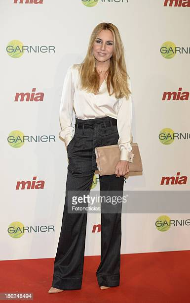 Berta Collado attends Mia magazine 'Cuida de Ti' 2013 Awards at Calderon theater on October 29 2013 in Madrid Spain
