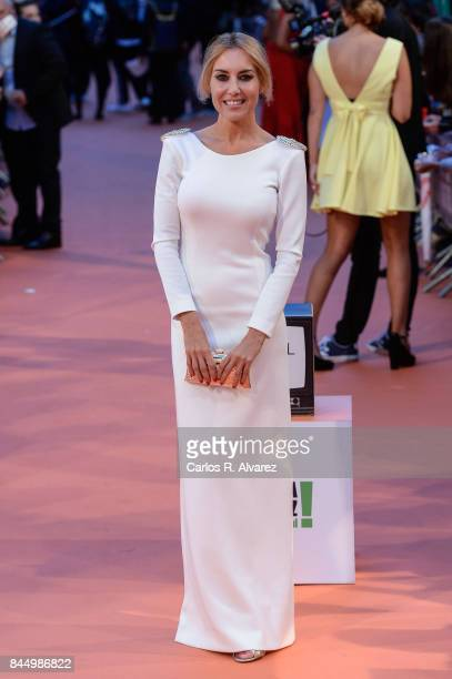 Berta Collado attends red carpet closing day during FesTVal 2017 on September 9 2017 in VitoriaGasteiz Spain