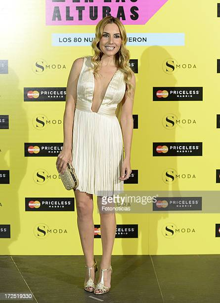 Berta Collado attends SModa Magazine cocktail party at the Urban Hotel on July 2 2013 in Madrid Spain