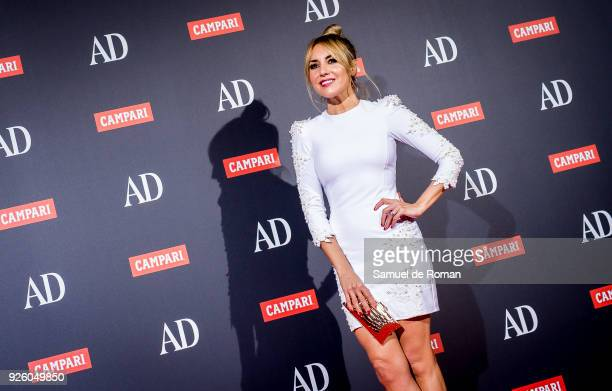 Berta Collado attends the 'AD Awards' 2018 photocall on March 1 2018 in Madrid Spain