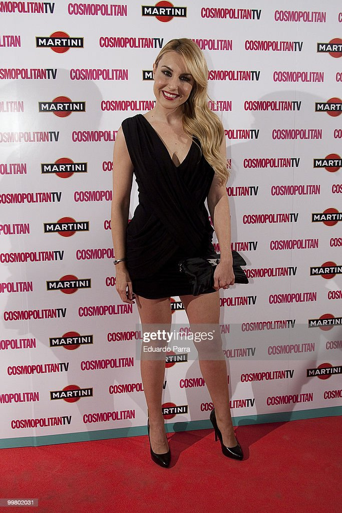 Berta Collado attends the Cosmopolitan - Fragance of the Year photocall at Lara Theatre on May 17, 2010 in Madrid, Spain.