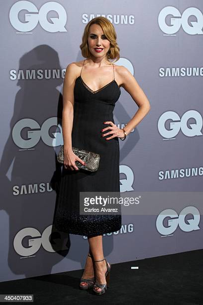 Berta Collado attends the GQ Men Of The Year Award 2013 at the Palace Hotel on November 18 2013 in Madrid Spain