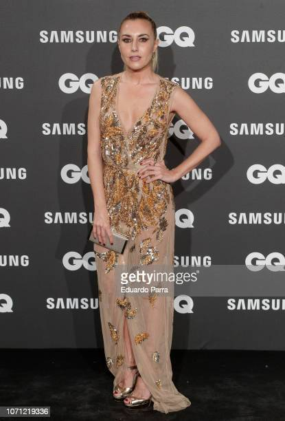 Berta Collado attends the 'GQ Men of the Year' awards photocall at Palace hotel on November 22 2018 in Madrid Spain