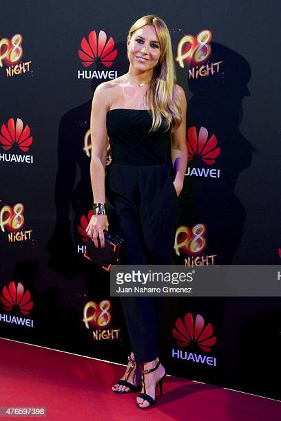 Berta Collado attends the Huawei P8 presentation party at Bodevil theatre on June 10 2015 in Madrid Spain